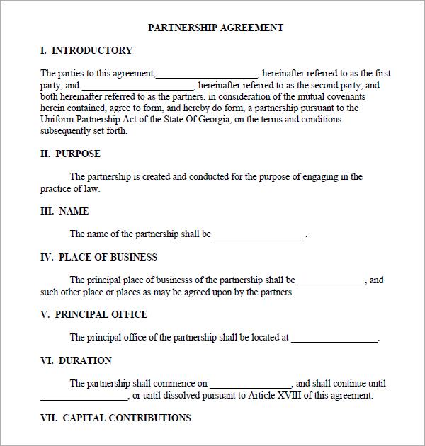 Doc460595 Mutual Business Agreement Partnership Agreement – Business Partnership Agreement
