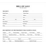 Bill Of Sales