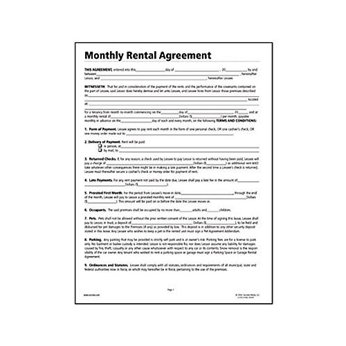 Free Lease Agreement Forms  Real Estate Forms