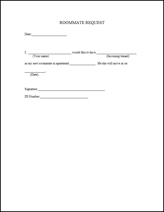 Move Out Agreement Form Erkalnathandedecker