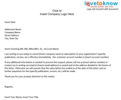 Termination Letter Real Estate Forms