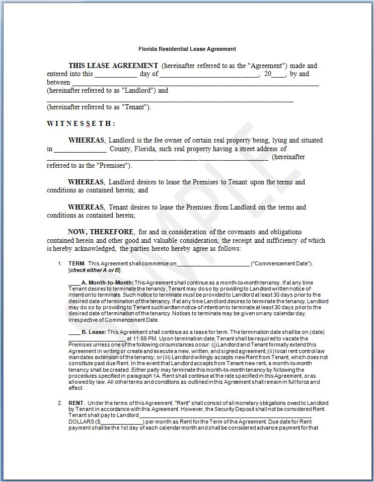 Rental Agreement Form Template Equipment Rental Agreement Form