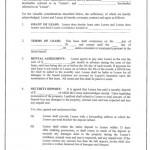 Lease Rental Agreement
