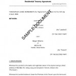 Renters Lease Agreement