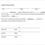 Simple Promissory Note