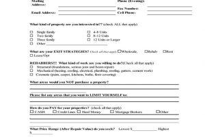 Buyer's List Application