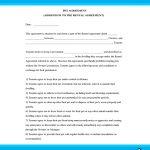 Pet Agreementm (Addendum to the Rental Agreement)